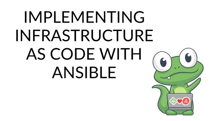 infrastructure as code, IaC
